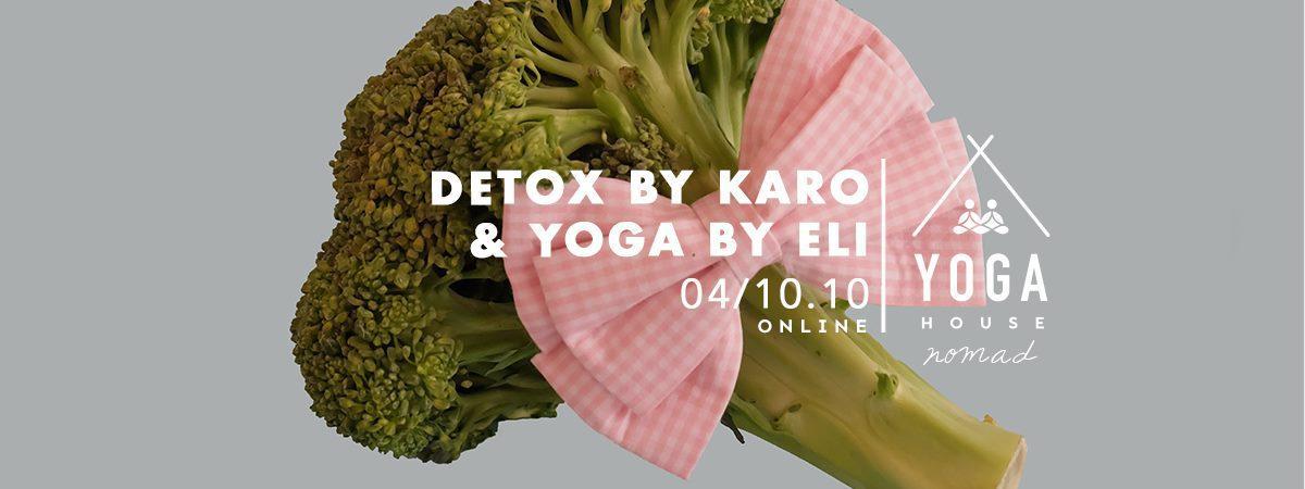 DETOX BY KARO & JOGA BY ELI - Wyjazdy jogowe